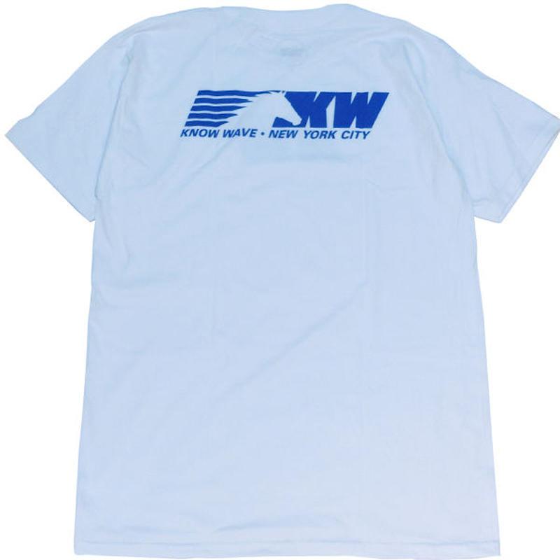 Know Wave ノウウェーヴNight Train Tシャツ White