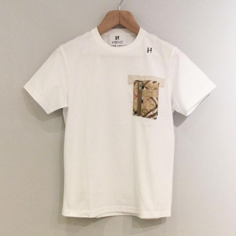 HBNS ポケットTシャツ(バーバリースカーフ)