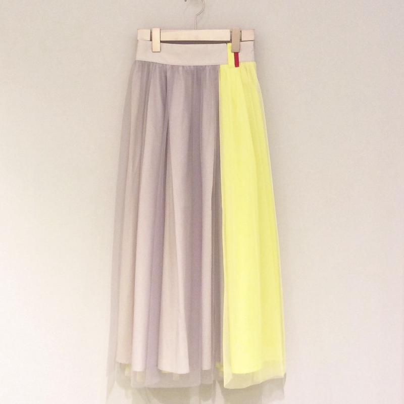 tranoi チュールスカート(yellow)