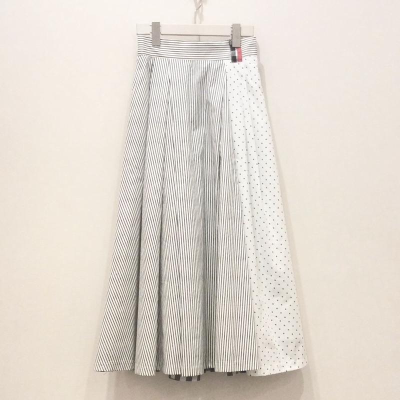 tranoiアシンメトリースカート