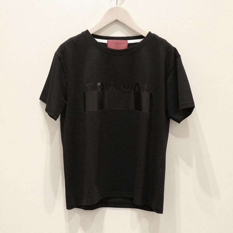 tranoi ロゴT black