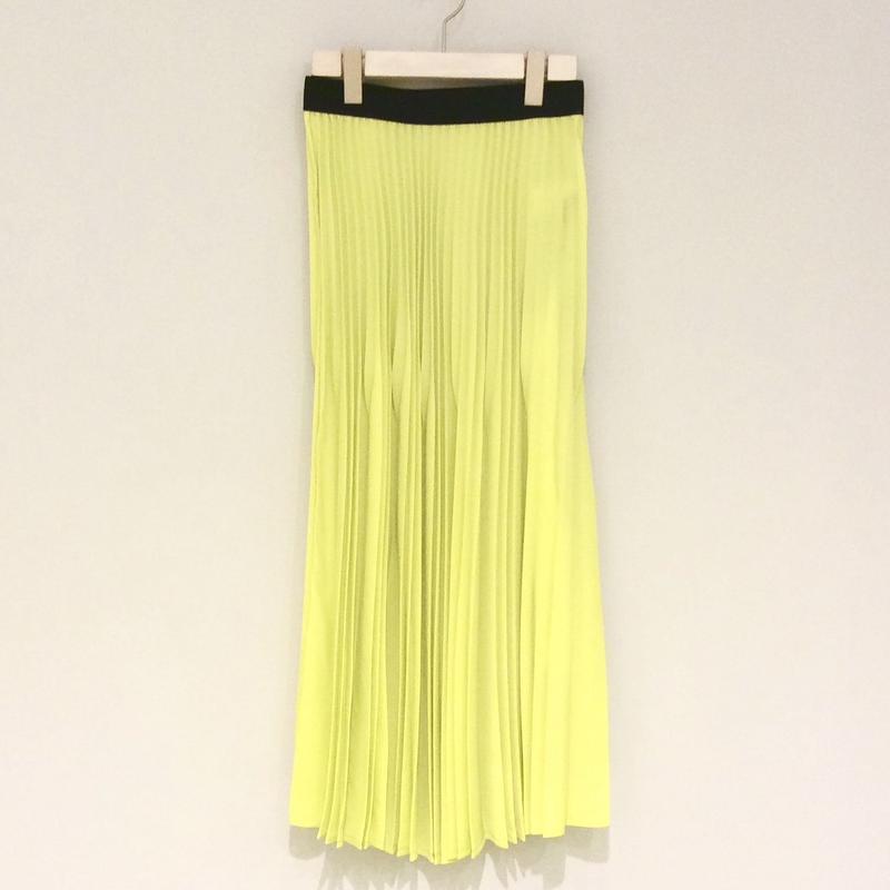 tranoi プリーツスカート(yellow)