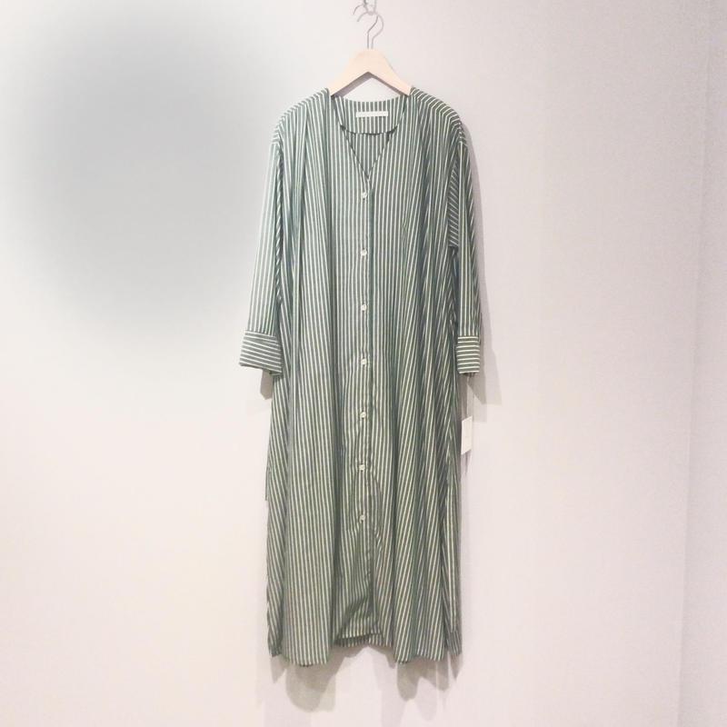 kittle シャツワンピース(green)