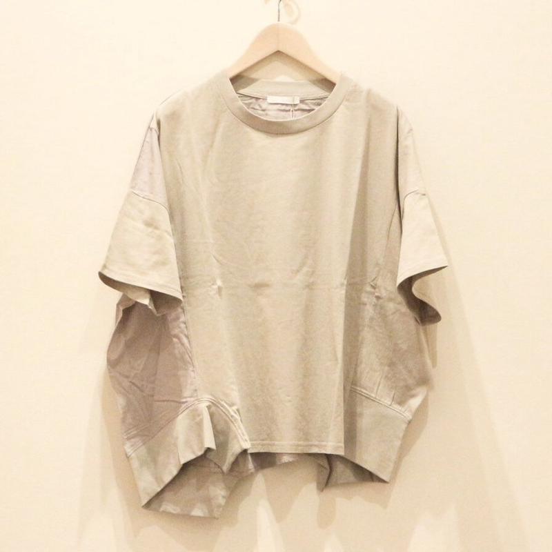 アシンメトリーレディスカットソー(gray)