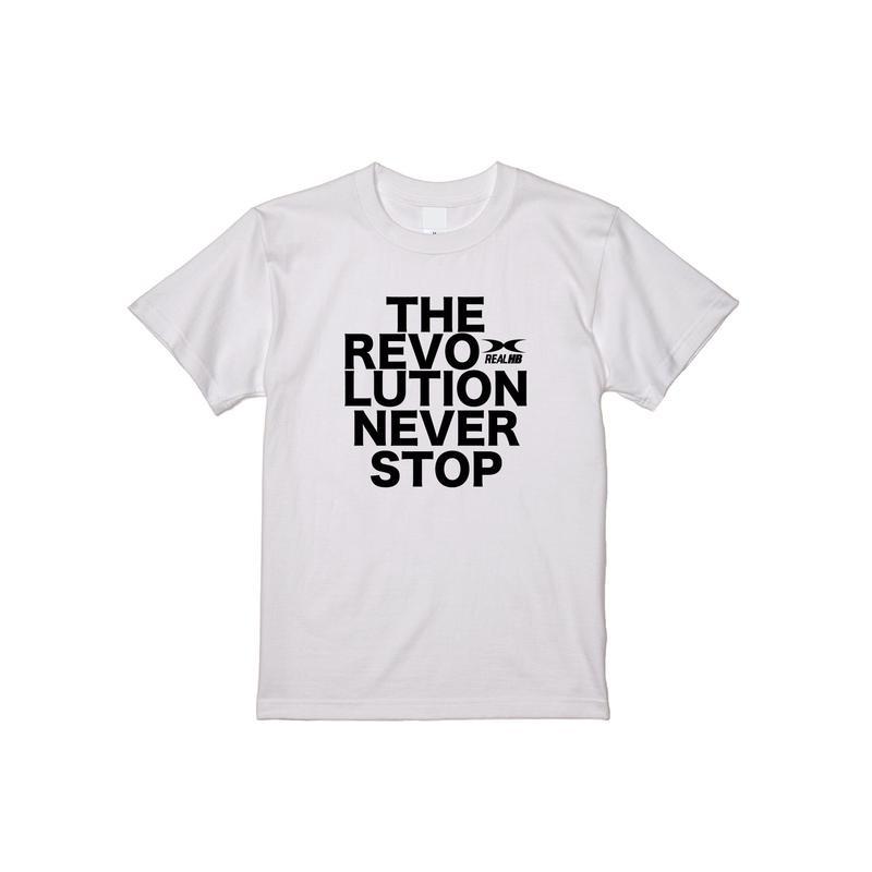 REVOLUTION Tシャツ ホワイト