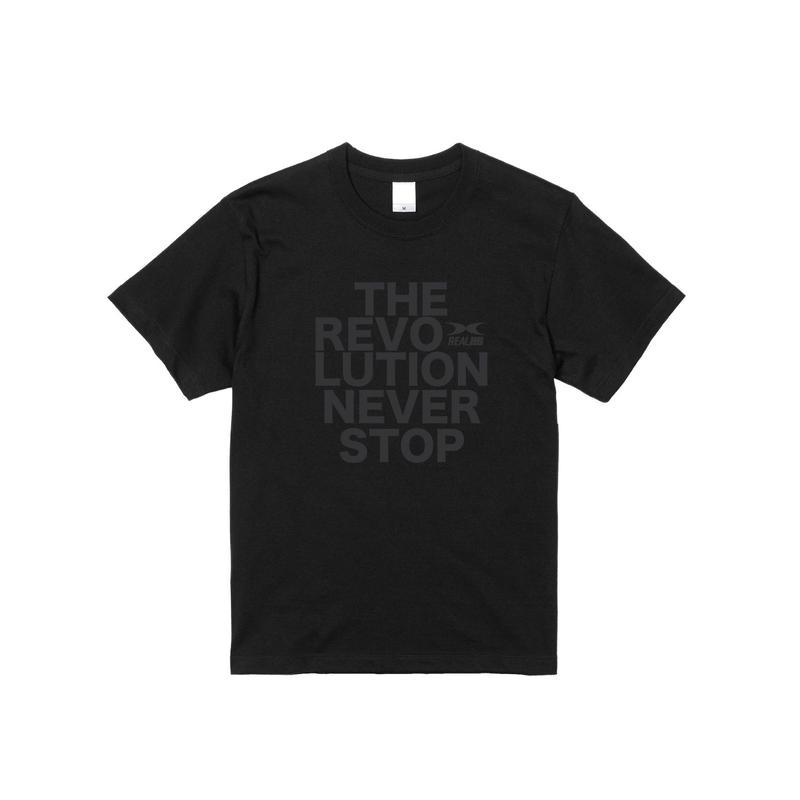 REVOLUTION Tシャツ ブラック