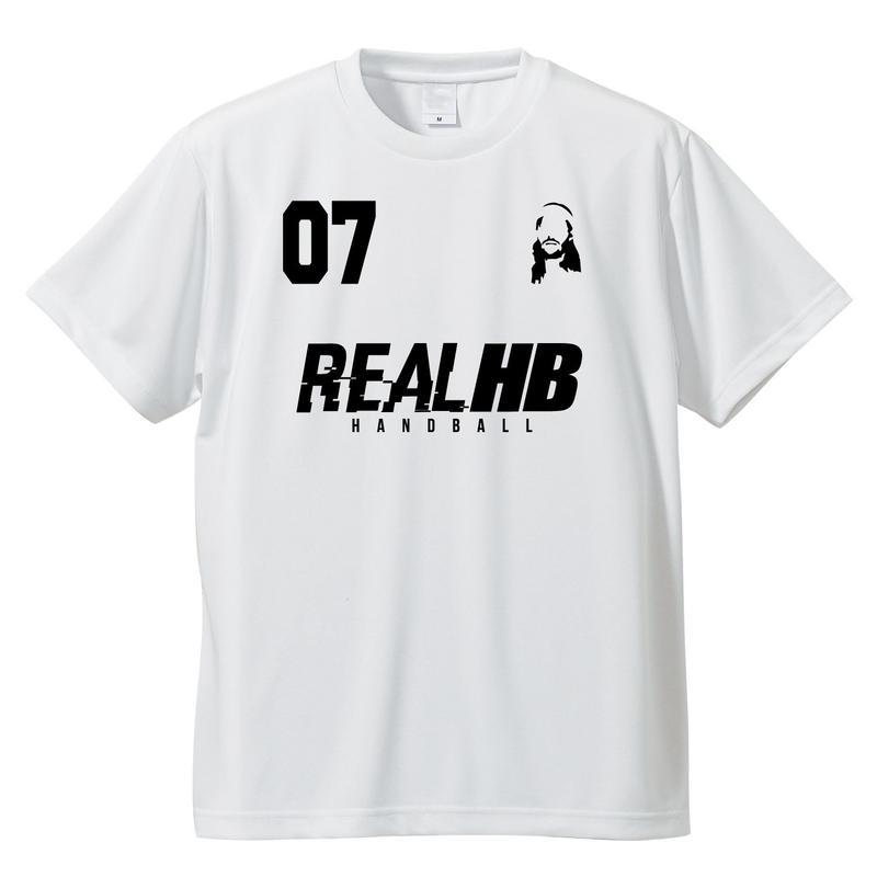 07 フェイス ドライTシャツ ホワイト