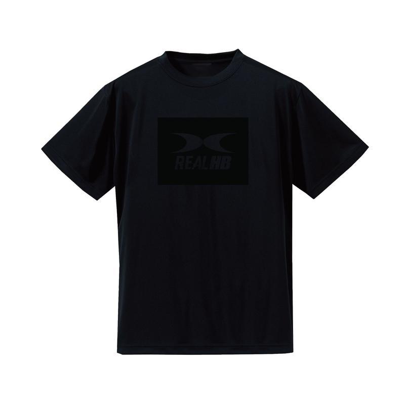 BOX ドライTシャツ ブラック