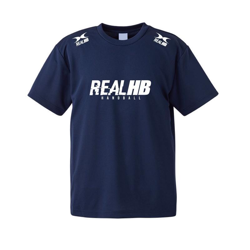 ベーシック2019 ドライメッシュTシャツ ネイビー