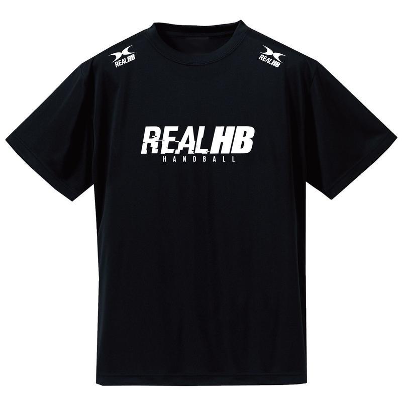 ベーシック2019 ドライメッシュTシャツ ブラック