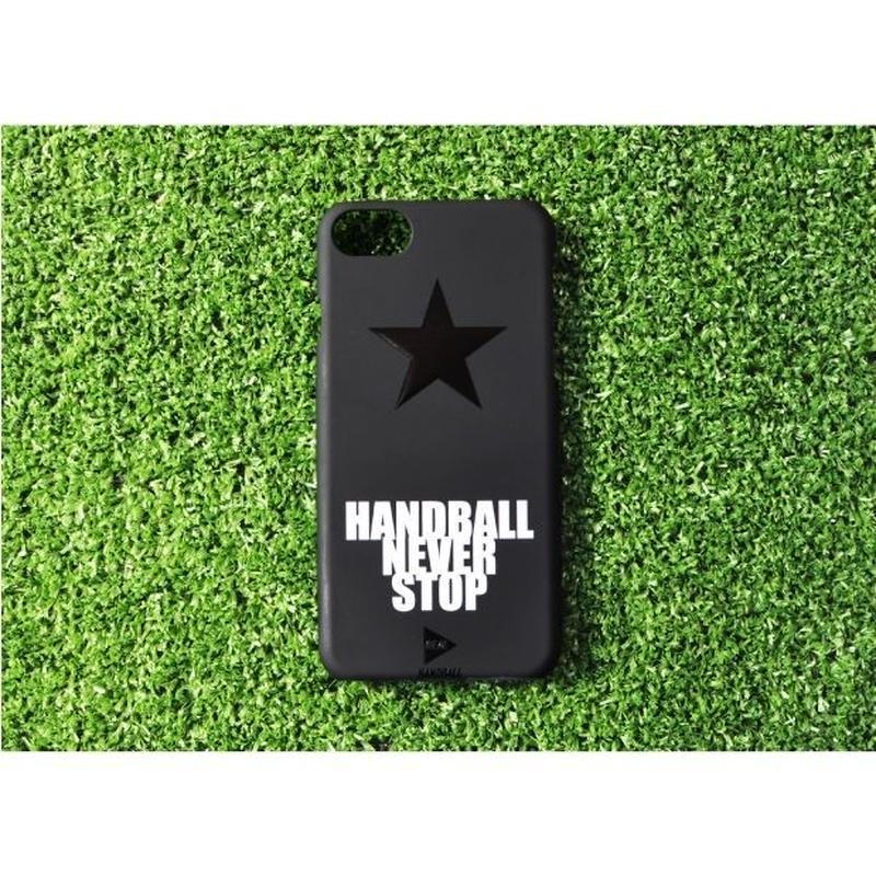 iphoneケース  ブラックスター ホワイト ★iPhone対応 5/5s/SE 5c 6/6s 6Plus/6sPlus 7 7plus 8 8plus/X★