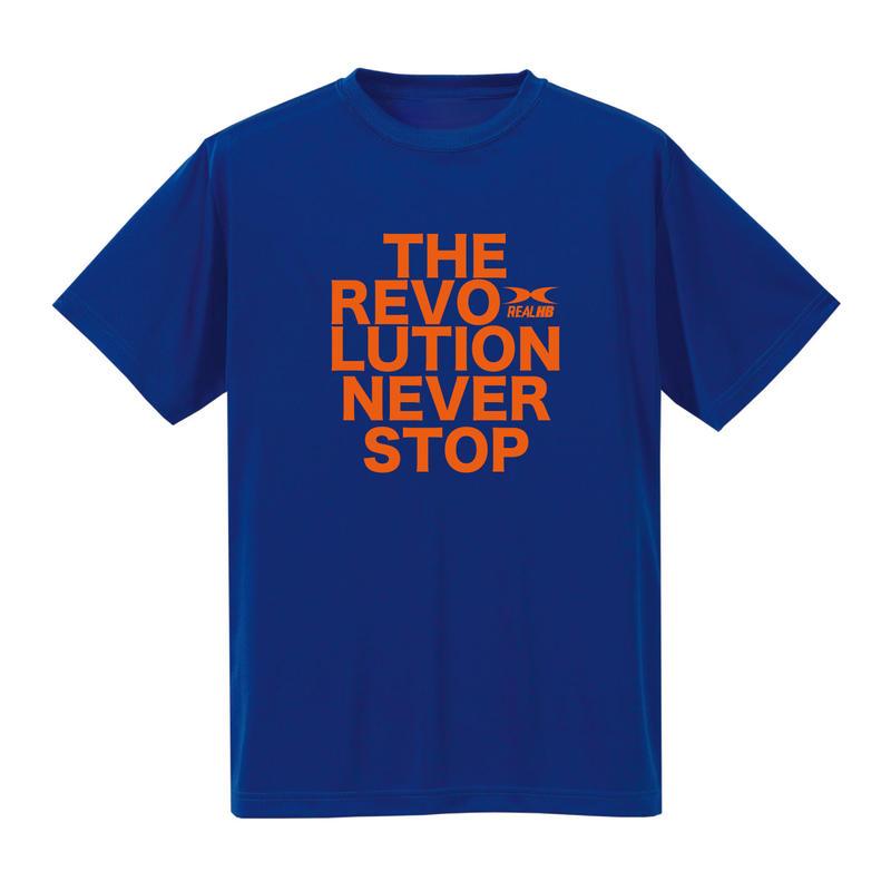 REVOLUTION Tシャツ ブルー