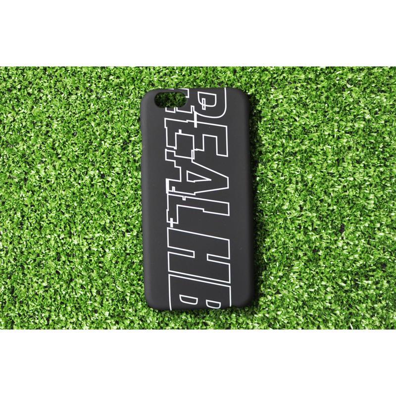 iphoneケース  BIG LOGO ブラック ★iPhone対応 5/5s/SE 5c 6/6s 6Plus/6sPlus 7 7plus 8 8plus/X★