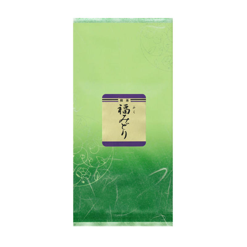 荒茶「福みどり」100g