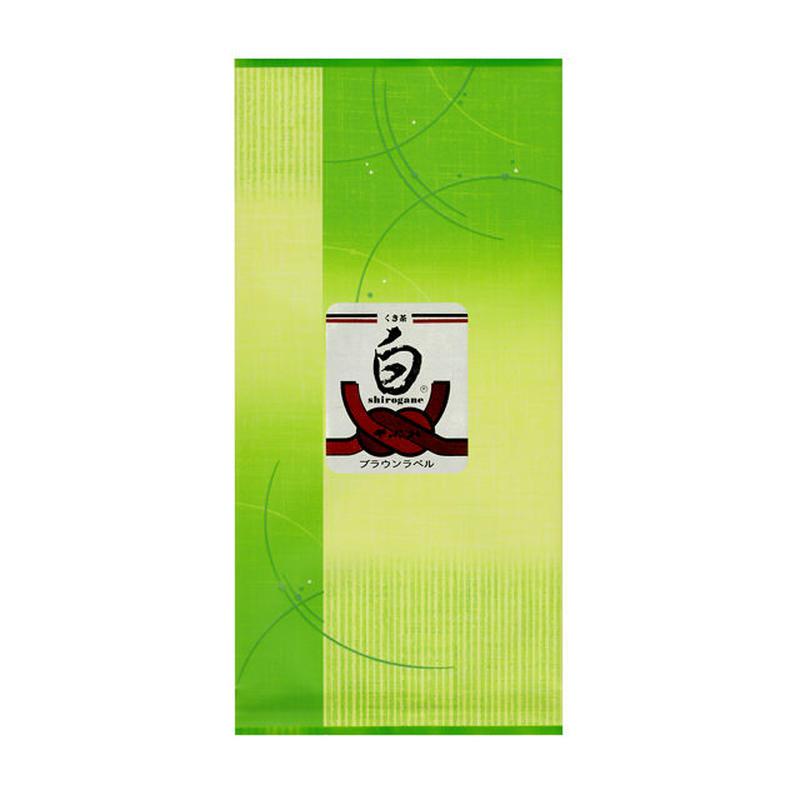 くき茶「白ブラウンラベル」100g