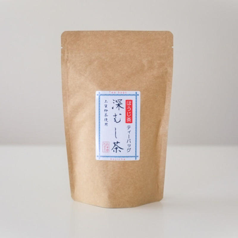 深蒸し茶ティーバッグ ほうじ茶 5g×20包