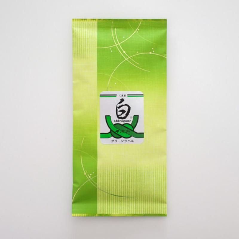 くき茶「白グリーンーラベル」100g