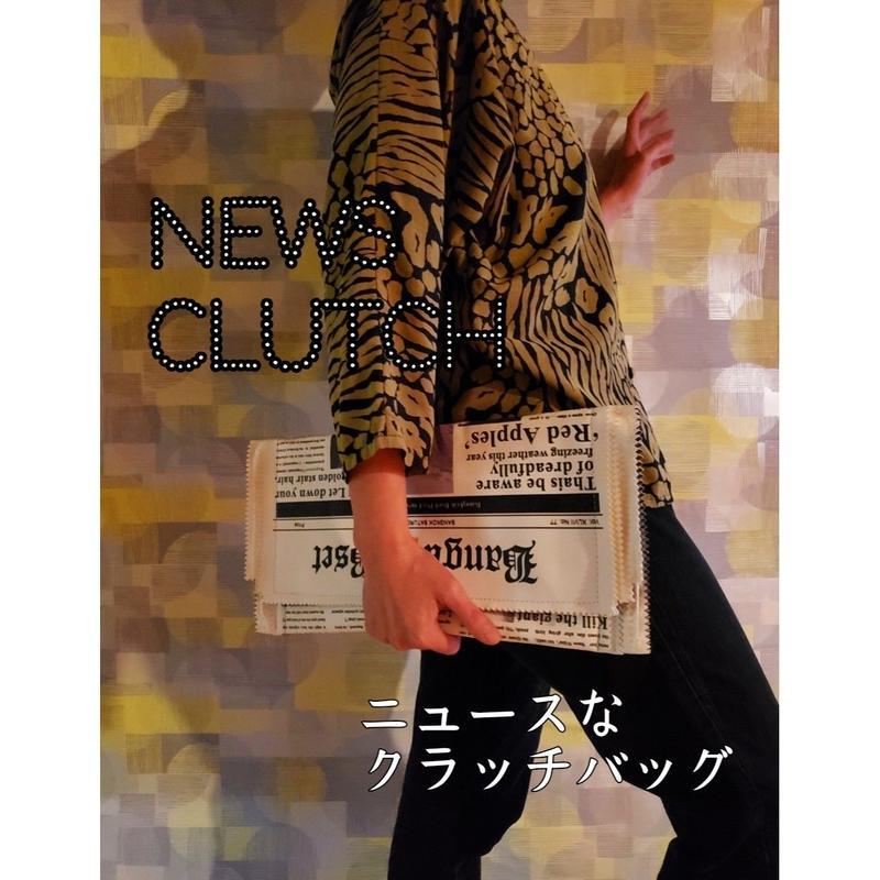 クラッチBAG  (L)/ Clutch Bag (L)