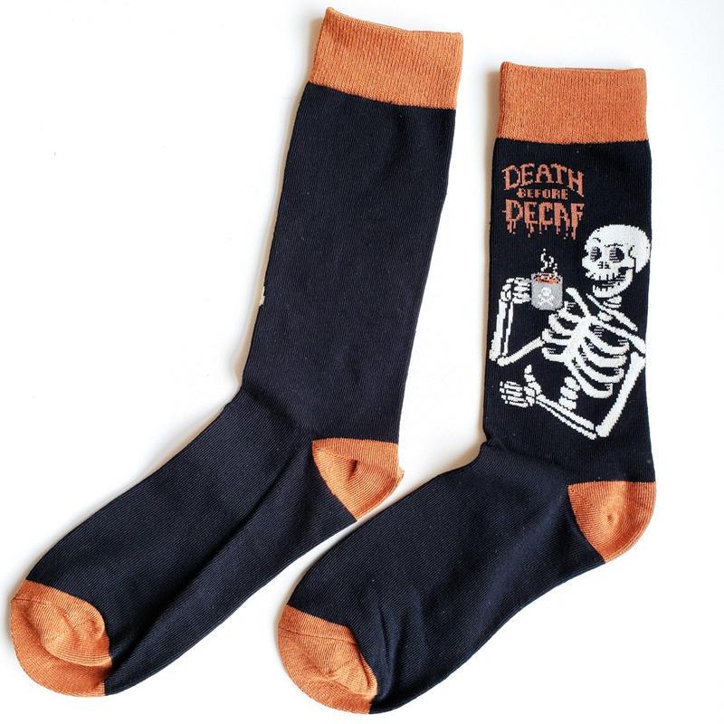 骨ロックソックス/ Death Decaf Socks