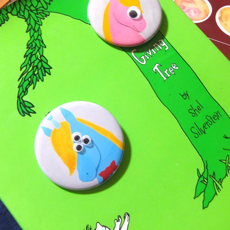 Kyorome ユニコーン・缶バッジ/ Tin-Badge