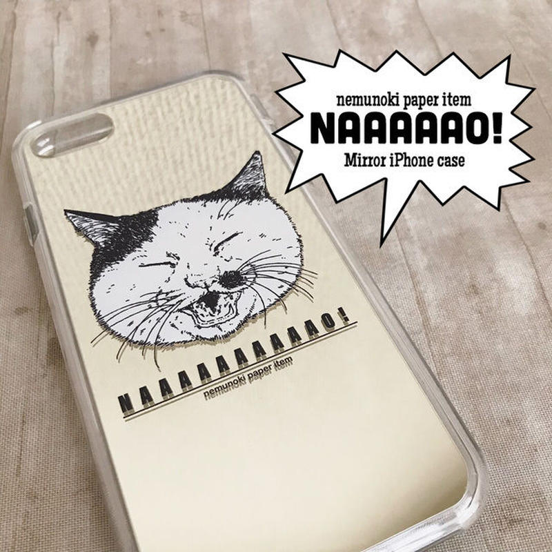 iPhoneミラーケース  /iPhone mirror case for 8Plus,7Plus