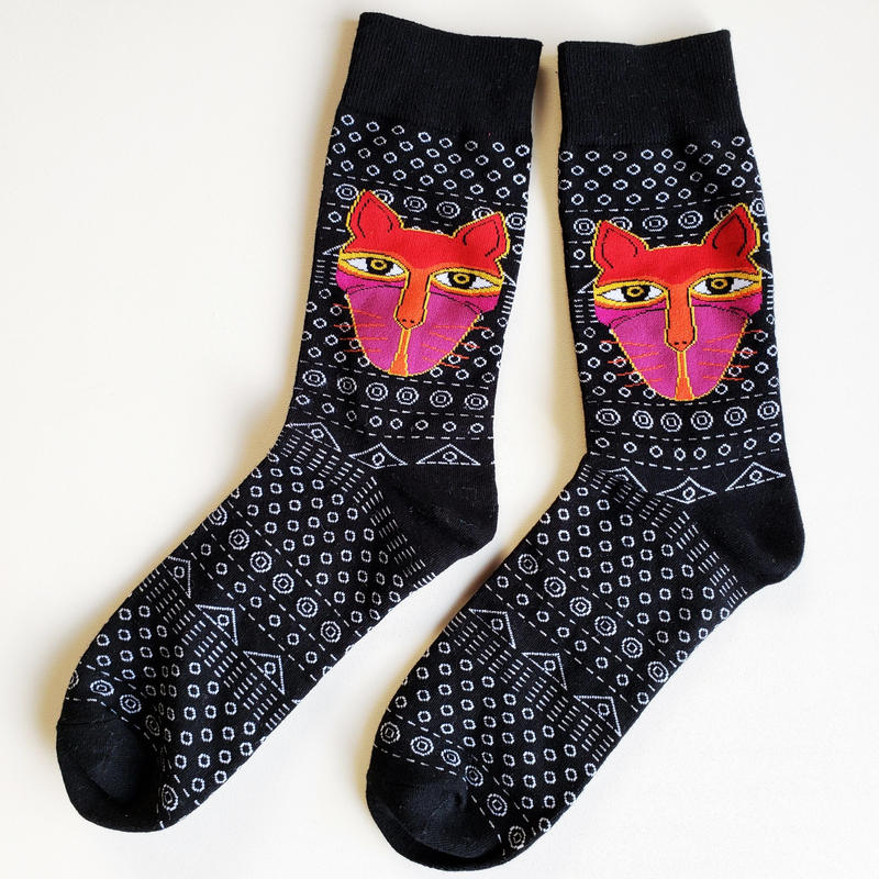 森の長ソックス/ unisex socks 'Lord of the wildlife'