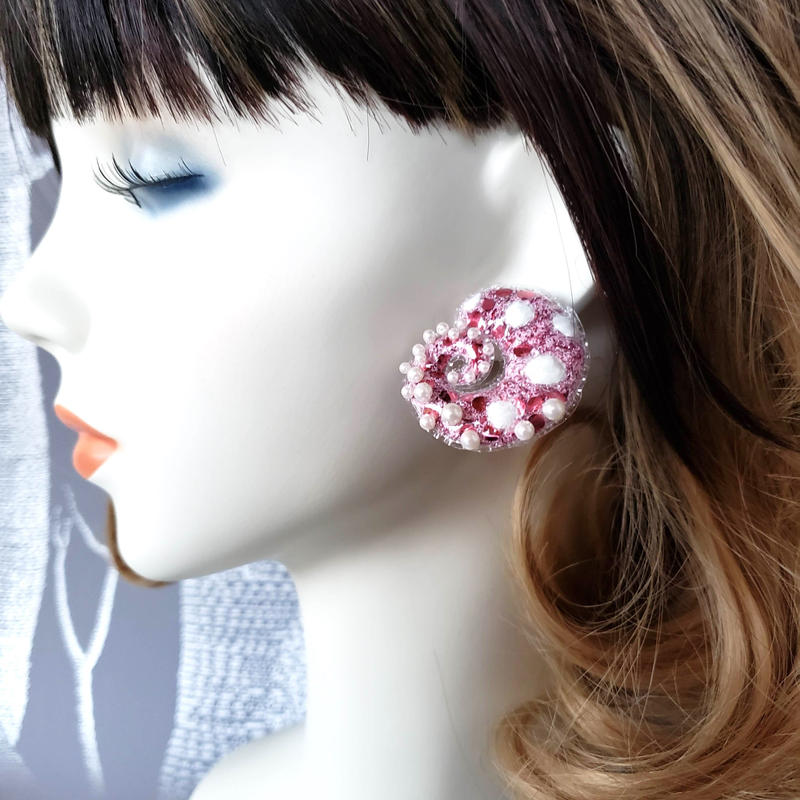 Colorful8nch. Octopus ピアス/ Stud earring 'Octopus'
