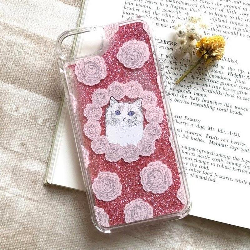 iPhoneグリッターケース/Glitter iPhone case