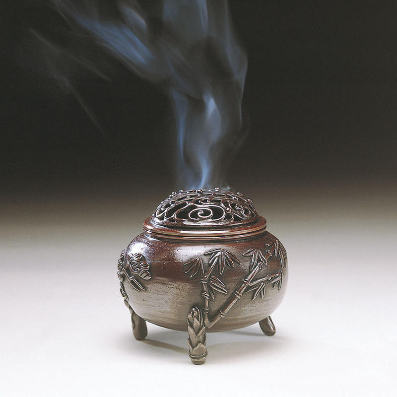 063-01 香炉 玉型(三友文)