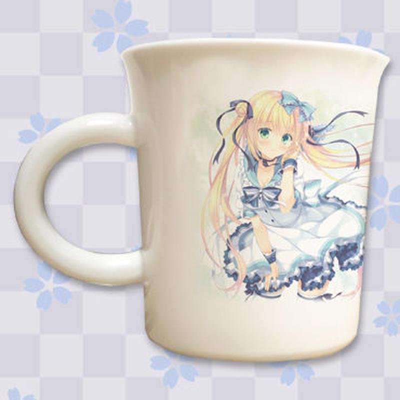 【複製サイン入り限定ノベルティ付き】「鷹乃ゆき」九谷焼マグカップ
