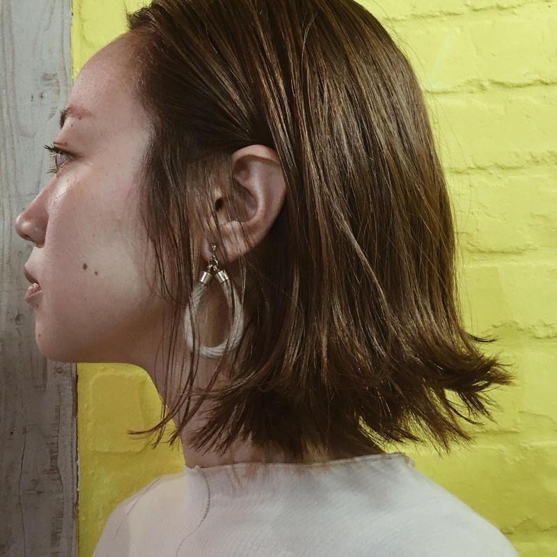 DYE ROPE EARRINGS