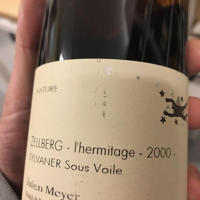 ジュリアン メイエ  スー・ヴォワル  ツェルベルグ  レルミタージュ 2000 白