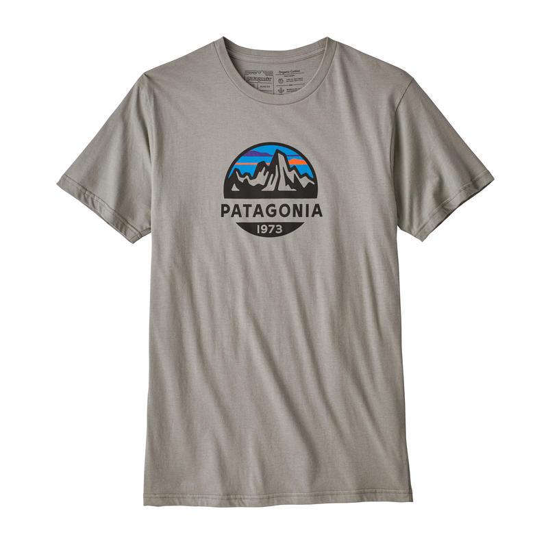 Patagonia(パタゴニア) メンズ・フィッツロイ・スコープ・オーガニック・Tシャツ #39144  Feather Grey (FEA)