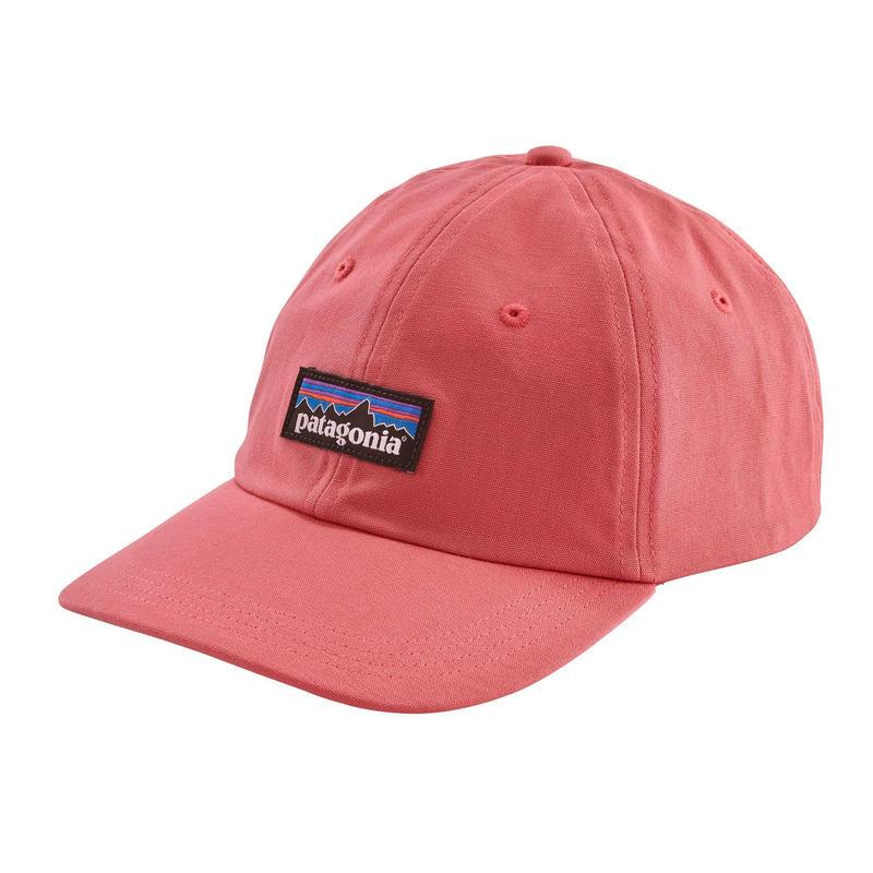 Patagonia(パタゴニア) メンズ・P-6 ラベル・トラッド・キャップ #38207 Sticker Pink (SRPK) ONESIZE