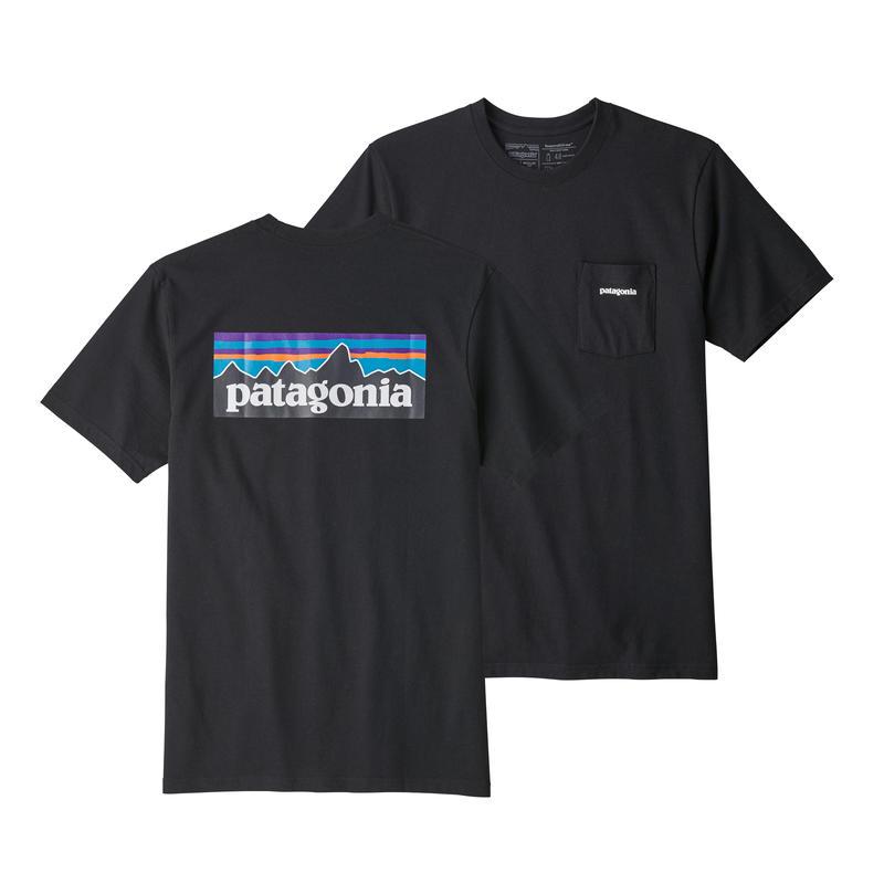Patagonia(パタゴニア) メンズ・P-6ロゴ・ポケット・レスポンシビリティー #39178 Black (BLK)