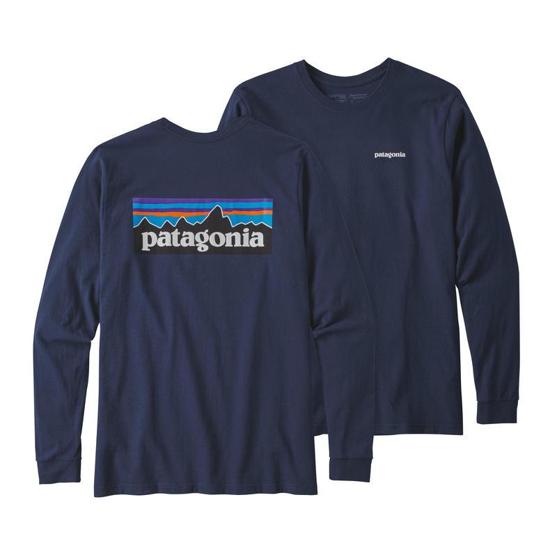 Patagonia(パタゴニア) メンズ・ロングスリーブ・P-6ロゴ・レスポンシビリティー #39161 Classic Navy (CNY)