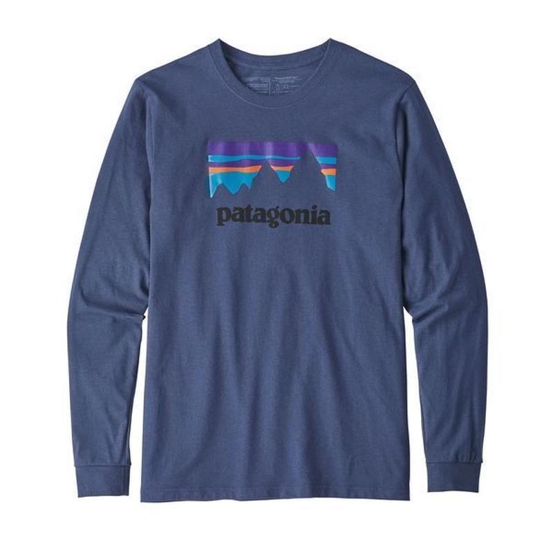 Patagonia(パタゴニア) メンズ・ロングスリーブ・ショップ・ステッカー・レスポンシビリティー  #39162   Dolomite Blue (DLMB)
