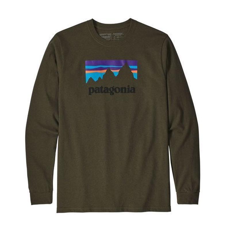 Patagonia(パタゴニア) メンズ・ロングスリーブ・ショップ・ステッカー・レスポンシビリティー  #39162   Sediment (SEMT) [商品管理番号:30-pt39162]
