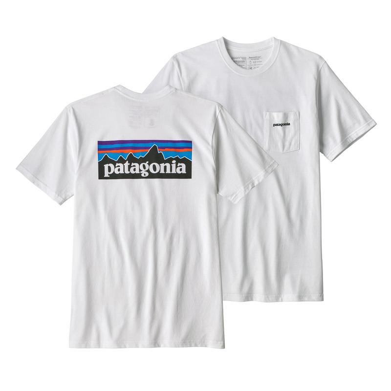 Patagonia(パタゴニア) メンズ・P-6ロゴ・ポケット・レスポンシビリティー #39178 White (WHI)