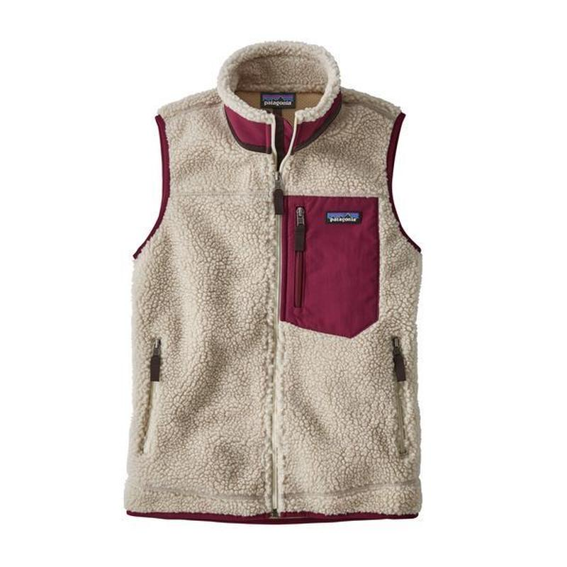 Patagonia(パタゴニア) ウィメンズ・クラシック・レトロX・ベスト  #23083  Natural w/Arrow Red (NARR) [商品管理番号:98-ptretrovw]