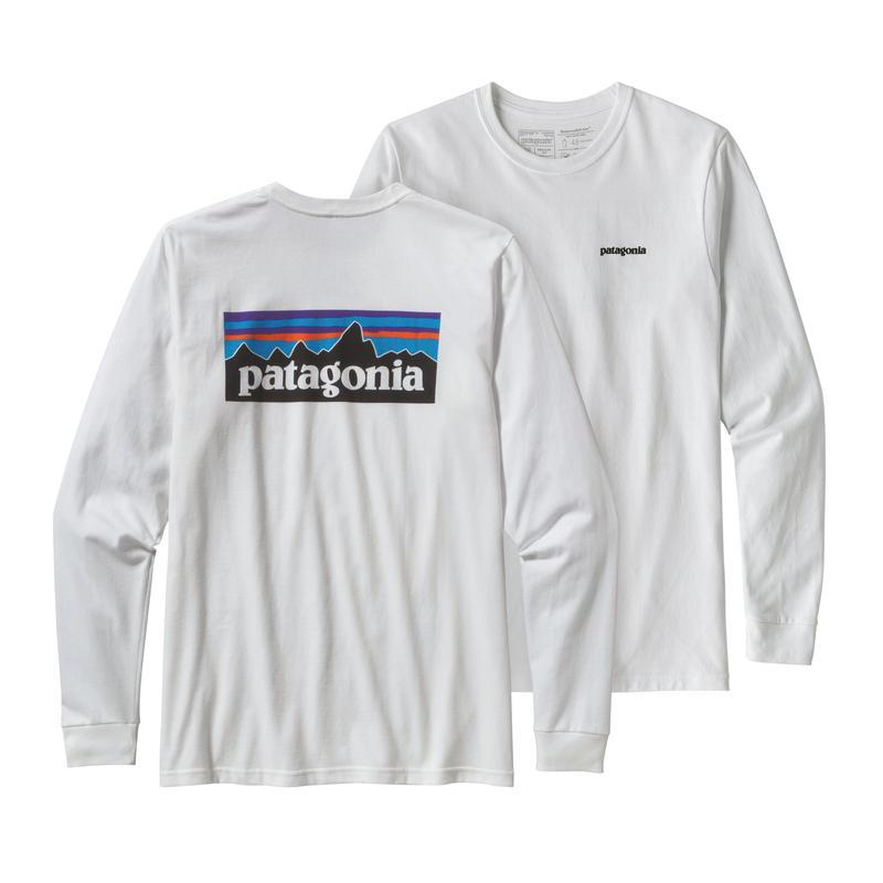 Patagonia(パタゴニア) メンズ・ロングスリーブ・P-6ロゴ・レスポンシビリティー #39161 White (WHI)