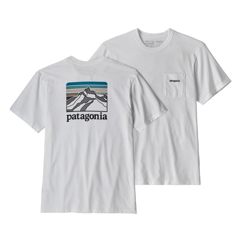Patagonia(パタゴニア) メンズ・ライン・ロゴ・リッジ・ポケット・レスポンシビリティー #38441  White (WHI)