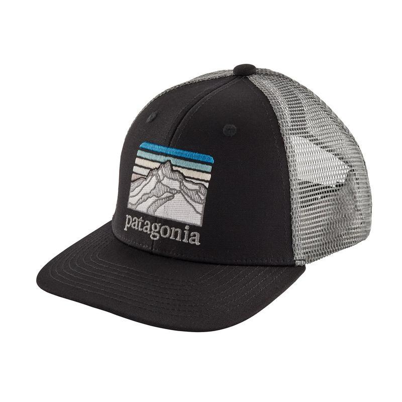 Patagonia(パタゴニア) キッズ・トラッカー・ハット #66032 ALL Line Logo Ridge: Black (LRBL)