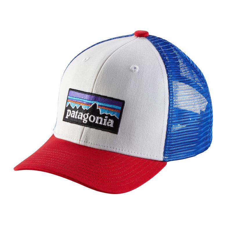 Patagonia(パタゴニア) キッズ・トラッカー・ハット #66032 ALL P-6 Logo: White (PLWT)