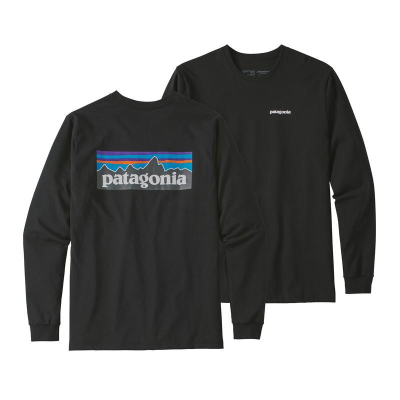 Patagonia(パタゴニア) メンズ・ロングスリーブ・P-6ロゴ・レスポンシビリティー #39161 Black (BLK)