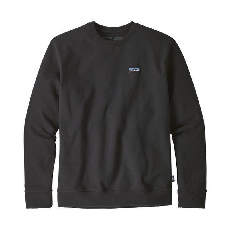 Patagonia(パタゴニア) メンズ・P-6 ラベル・アップライザル・クルー・スウェットシャツ #39543 Black (BLK)
