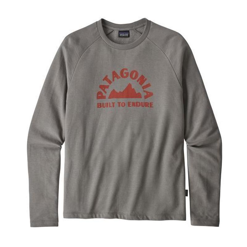 Patagonia(パタゴニア) メンズ・ジオロジャーズ・ライトウェイト・クルー・スウェットシャツ  #39549    Feather Grey (FEA)