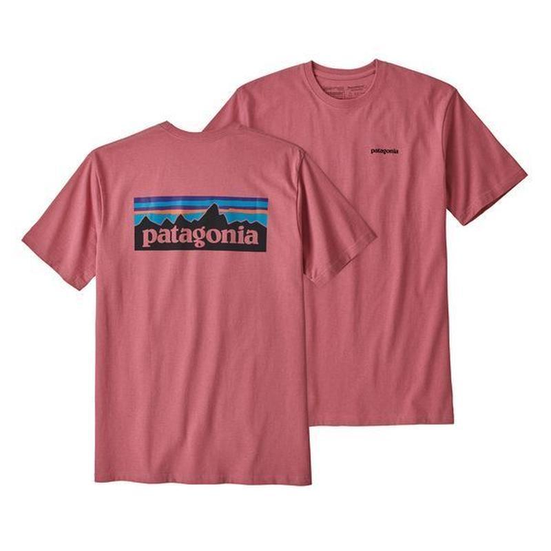 Patagonia(パタゴニア) メンズ・P-6ロゴ・レスポンシビリティー #39174 Sticker Pink (SRPK)