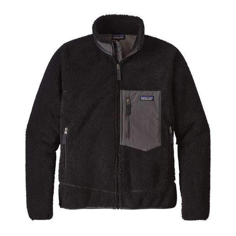 Patagonia(パタゴニア) メンズ・クラシック・レトロX・ジャケット  #23056  Black w/Forge Grey (BFO) [商品管理番号:48-pt23056]