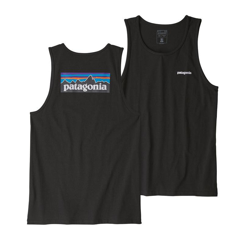 Patagonia(パタゴニア) メンズ・P-6ロゴ・レスポンシビリティー・タンク #39181 Black (BLK)